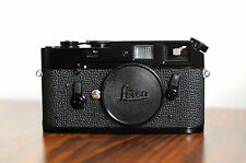 Leica M4 Black Paint Rangefinder Camera -Repainted ** Excellent ** Leitz, M2, M3