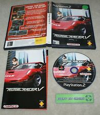 Ridge Racer V 5 - Playstation Two Game PS2 - PAL complete
