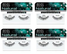NEW -- SPECIAL OFFER-- Ardell Natural Lashes Demi Wispies Black x 4 packs