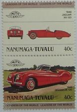 1949 JAGUAR XK 120 Car Stamps (Leaders of the World / Auto 100)