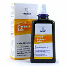 WELEDA ARNICA MASSAGE BALM 100ml - MUSCULAR & RHEUMATIC PAIN - FREE UK P&P