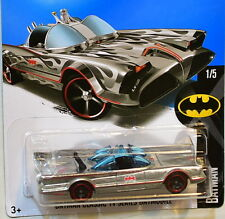 HOT WHEELS 2016 BATMAN CLASSIC TV SERIES BATMOBILE ZAMAC
