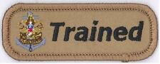 Sea Scout Leader TRAINED Strip Tab Non BSA Patch Private Issue KHAKI