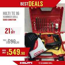 HILTI TE 16, GOOD CONDITION, FREE HILTI HAT, EXTRAS, FAST SHIPPING