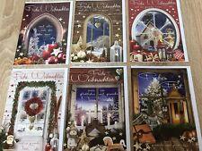 EF 100x Weihnachtskarten Glückwunschkarten Grußkarten Weihnachten 22-1848