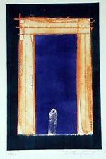 Alistair Grant DOOR Etching Aquatint Signed Original Art