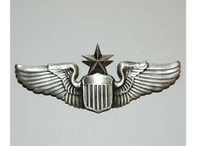 US Army Airforce Senior Pilot Wings  Pin USMC Navy Marines Collar Badge WK2 WKII
