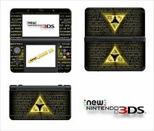 SKIN STICKER AUTOCOLLANT - NINTENDO NEW 3DS - REF 172 ZELDA