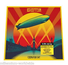 "SEALED - LED ZEPPELIN - CELEBRATION DAY - 12"" VINYL TRIPLE LP BOX SET / 180 GRAM"