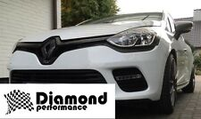 Renault Clio 4 2013+  GLOSS BLACK FRONT&REAR BADGE EMBLEM inc GT 200,220,EDC