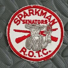 Vintage  Sparkman Senators ROTC Patch - Army - Military - Alabama
