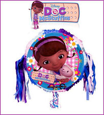 Disney Doc McStuffins Birthday Party Lambie 18″ Drum Pull String Pinata Pinyata