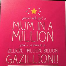 Mothers Day Card...Mum In A Million
