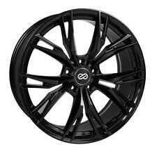 18 ENKEI ONX BLACK 18x8 +40 5x108 (4 NEW WHEELS)