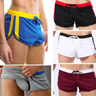 Mens Sports Boys Pouch Trunk Board Shorts Underwear Brief Boxer Swimwear Trunks