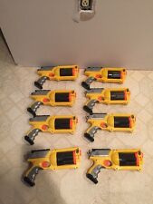 Lot of 8 N-Strike Maverick Rev-6 Nerf Guns Nerf Gun War Party Pack!!