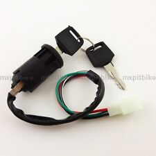 4 Wire Key Switch For 4 wheeler 50cc 110cc Pit Dirt Baja Mini Bikes ATV Quad