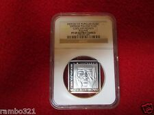 2009 Poland Silver 10zl NGC PF69 History of Polish Popular Music  Czeslaw Niemen