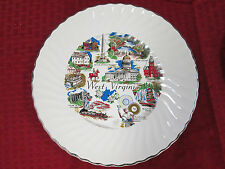 """COLLECTOR PLATE 9 1/2""""   WEST VIRGINIA"""