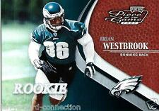 Brian Westbrook 2002 02 Playoff Piece of the Game Rookie #81 #41/500 Eagles