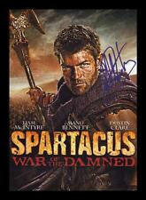 LIAM MCINTYRE - SPARTACUS -AUTOGRAPHED SIGNED & FRAMED PP POSTER PHOTO