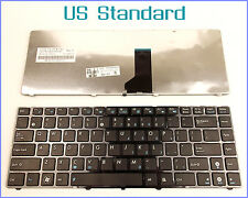 Laptop Keyboard for ASUS K43B K43E UL80VT K42 K42J US Layout WITH BLACK FRAME