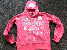 GORGEOUS PAULS BOUTIQUE BLINGY HOODY AMAZING CONDITION PERFECT SIZE L 10/12/14