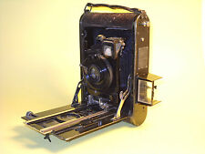 Ernemann Heag XIV - Antique 9x12 cm Folding Camera for parts or repair