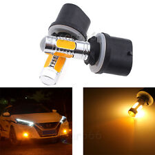 2 × 880 899 Yellow Amber COB LED Projector Lens Bulbs Car Fog Light Driving Lamp