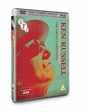 Ken Russell Collection: The Great Composers - 3 Disc DVD & Blu ray NEW & SEALED