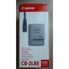 Genuine Canon EU European Charger CB-2LBE CB-2LB 4724B001 for NB-9L Battery