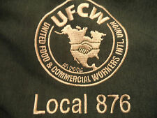 UNITED FOOD & COMMERCIAL WORKERS UNION LINED jacket sz XL EUC ufcw