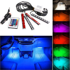 Remote RGB Wireless Control Car Truck 9 LED Neon Interior Light Lamp