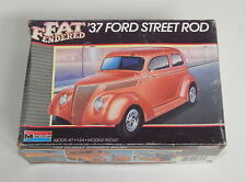 Monogram '37 Ford Street Rod Fat Fendered 1/24 scale #2757 R10200