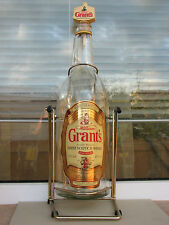William Grant's 3 litre large bottle glass pourer scotch whisky swing used rare
