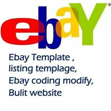 eBay Template | Listing Template | Design Template | Install Fee £25