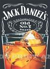 RETRO METAL PLAQUE :JACK DANIEL'S OLD No 7 brand sign/ad