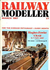 Railway Modeller Magazine - Mar 1987  - Modelling Mountains, Crab