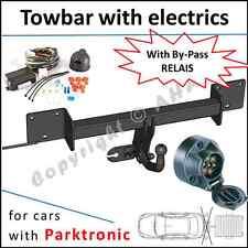 Towbar + wiring 12N PDC BMW 3 Series E90 Saloon / E91 Estate / swan neck