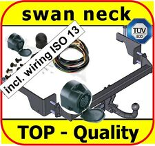 Towbar & Electric 13pin Opel / Vauxhall Combo C Van 01 - On / swan neck Tow Bar