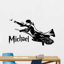 Personalized Harry Potter Wall Decal Custom Boy Name Vinyl Sticker Mural 93crt