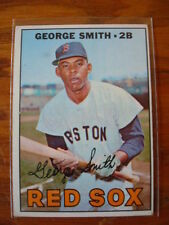 1967 Topps George Smith #444 Boston Red Sox