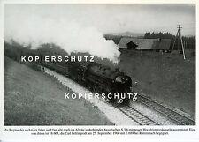 Dampflok 18 603 bei Rötzenbach 1960 EK-AK (*6982)