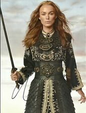 KEIRA KNIGHTLEY - PIRATES OF THE CARIBBEAN 8x10 Signed Hollywood Autographs COA