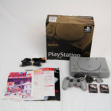Sony Playstation PSX Import Japanese Region Video Game System w/ 2 Memory Cards