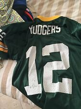 Aaron Rogers used Green bay Packers  youth jersey youth medium