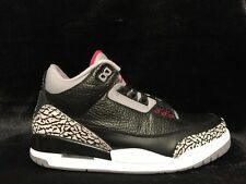 Nike Air Jordan 3 Retro III Black Cement 2011 OG 136064-010 Size 8.5 US