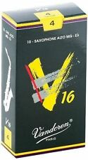 VANDOREN V16- SR704- 10 anches-reeds saxophone alto Mib-Eb 4- NEW