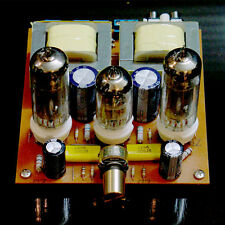6N2 Pull 6P1 Tube Single Ended Amplifier Valve Amp Kit Class A DIY