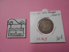 LOUIS PHILIPPE 1 FRANC 1840 A - OLD FRENCH COIN - REF22369